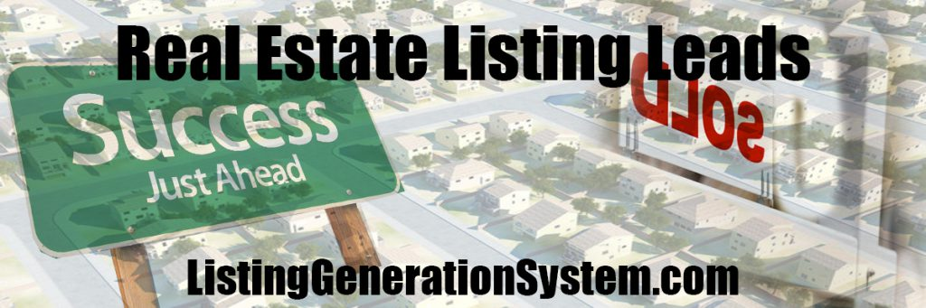 Real Estate Listing Leads