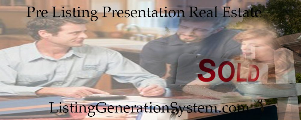 listing presentation for real estate agents