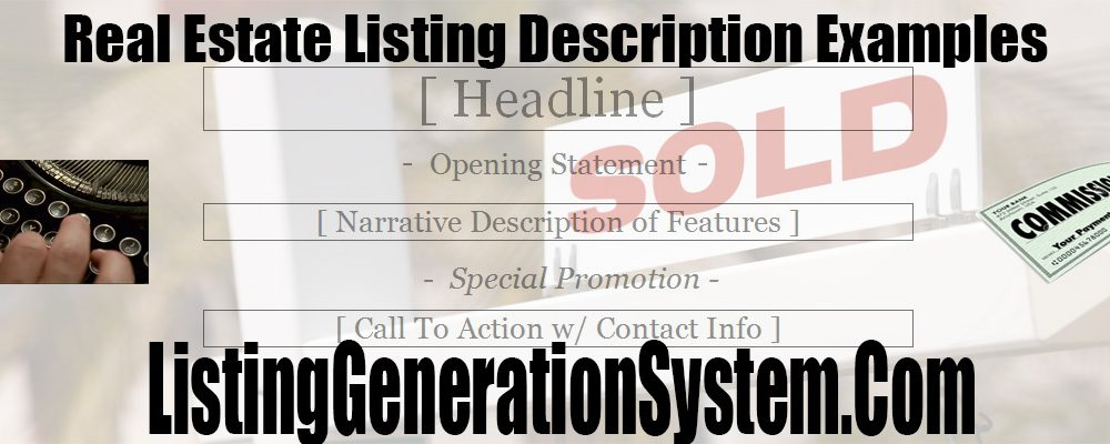 The Best real estate listing description examples