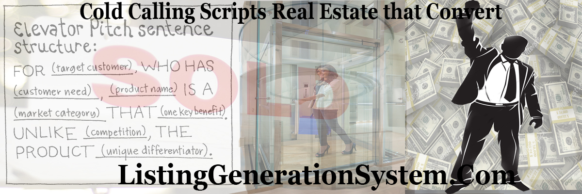 Cold Calling Scripts Real Estate that Convert - Listing