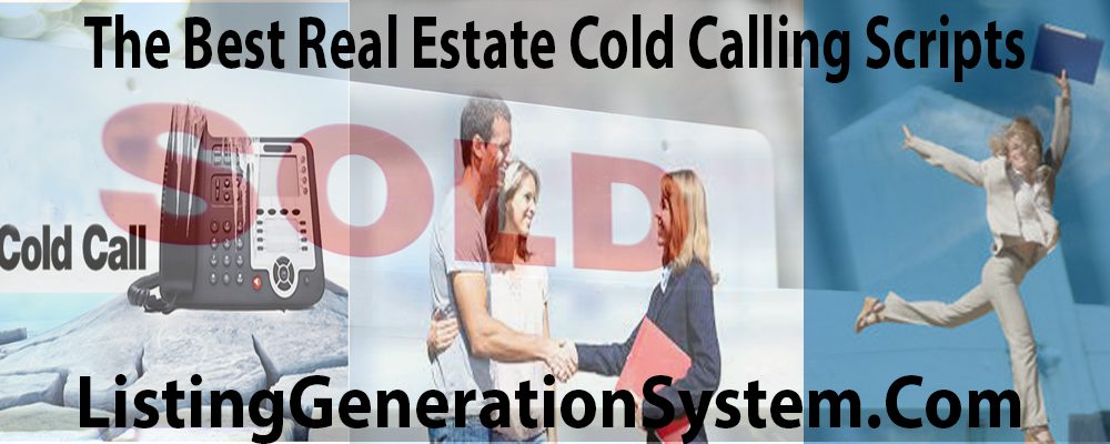 real estate agent cold calling scipts
