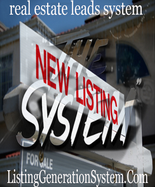 real estate listing lead generation system