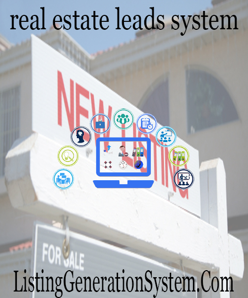 best real estate listing lead generation system