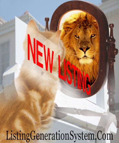 listing generation system fearless real estate listing agent