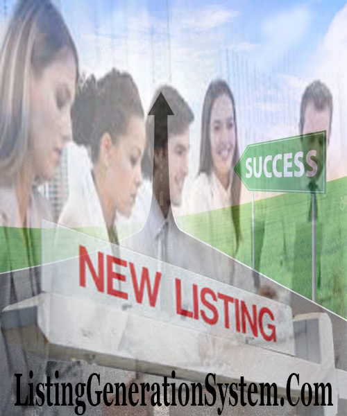 real estate school for success, listing generation system